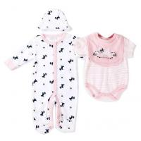 China Spring Autumn Baby Clothes Gift Set 180G 100% Cotton  Interlock Nb - 9M on sale