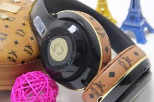 Beats X Mcm Studio Wireless Headband Headphones Black Gold From Golden Rex Group Ltd For Sale Beats By Dr Dre Headphones Manufacturer From China 107253650