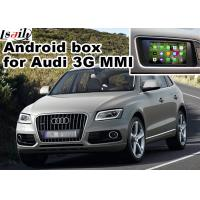 China Audi Q5 3G MMI video Android navigation box video interface , Car Navigation Box on sale