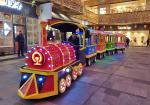 Trackless Electric Ride On Train For Kids Amusement Park Rides ISO9001