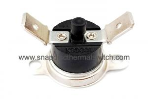 China Bakelite Constructure Thermal Disk Switch Manual Reset Thermostat Normally Closed on sale
