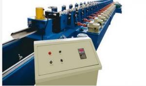 China Hydraulic Garage Door Roll Forming Machine , Door Frame Metal Roll Forming Machine on sale
