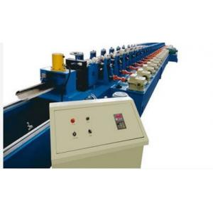 China Hydraulic Garage Door Roll Forming Machine , Door Frame Metal Roll Forming Machine on sale