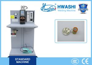 China Capacitor Discharge Table Double Spot Welding Machine for Battery Tab on sale