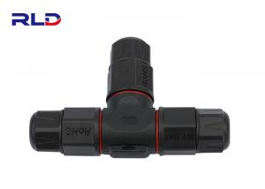 China 2 Pin 3 Pin Waterproof Electrical Wire Connector Plug UL IP68 Power Cable Splitter on sale