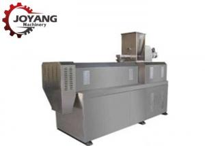 China Silver Corn Puff Snack Food Processing Machinery For 80-100 Kg / H Capacity on sale
