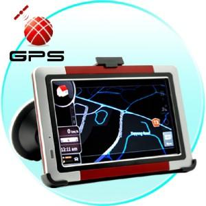 China 5inch GPS navigator with Bluetooth on sale