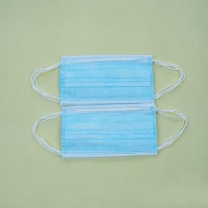 China Factory Wholesale Disposable Care Mouth Masks 3 Layers Filter Waterproof Medical Face Masks on sale