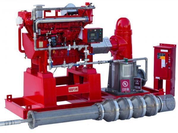 750 US GPM Vertical Turbine Pump UL / FM with Diesel Engine