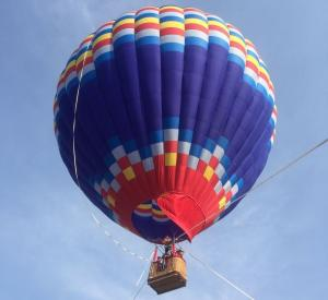 China Colorful Polymorphic Hot Air Balloon for to Go Sightseeing Flying Competition Wedding Trip supplier