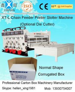 Quality High Speed Die Cutter Flexo Printer Slotter Machine For Carton Box Making for sale