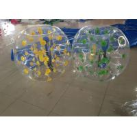 Blue Dot Human Bubble Ball Adults / Children , 6kg Inflatable Bubble Football BB-PVC100
