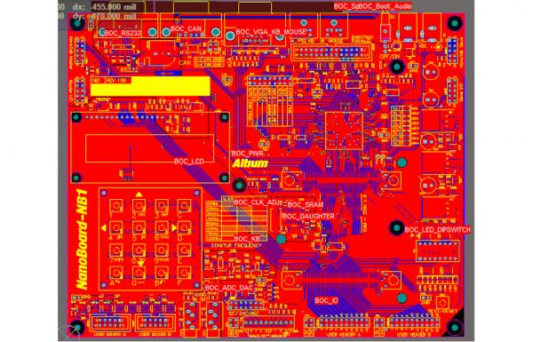 High Speed PCB Layout Design Service, Digital Logic Circuits ...