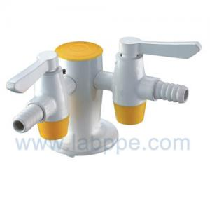 Quality SH802A-Two way gas outlet,2 way Lab Gas tap,air valves/cock,Deck mounted,quick open for sale
