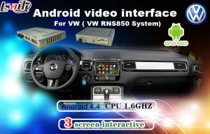 China Android 6.0 Muti-Language Car Interface Android For Tiguan / Sharan / Magotan With Network , Miracast on sale