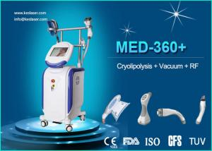 China Body / Arm RF LED IR Weight Loss Body Sculpting Machine Vacuum Cavitation System on sale