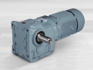 China Helical Bevel Geared Motors/Gear Reducer /Gearbox/Gear Box K Type (K37~ K187) on sale