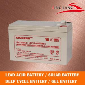 China Lead Acid Battery 12V7AH for UPS on sale