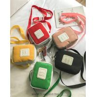 Korean version of ins fashion wild hit color canvas Messenger bag small fresh soft personality strap