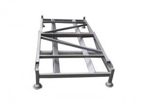 China High Capacity Frame Nestainer Storage Racks , Foldable Metal Storage Shelving on sale