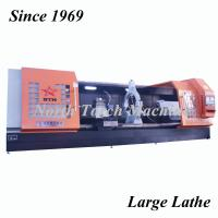 China Professional Facing in CNC Lathe, Horizontal Lathe for turning wind power shaft on sale