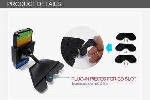 China Driving Safely GPS Devices / Mobile Car Holders Smartphone Vehicle Dock on sale