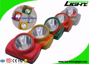 China Ultra Bright 13000 Lux Underground Mine Lights , Cordless Mining Cap Lamp for Tunneling on sale