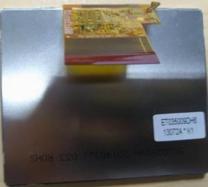 China Response 15/35ms 3.5inch EDT LCD Display ET035009DH6 With Antiglare Surface on sale