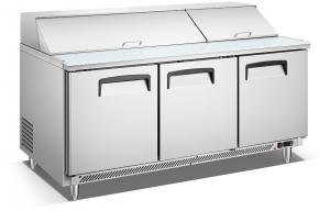 China Commercial Stainless Steel Under Counter Freezer / Kitchen Chiller /freezer on sale