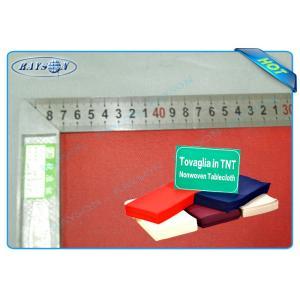 China PP Non Woven Disposable Table Cloth Spunbond Polypropylene Non Woven Table Cover on sale