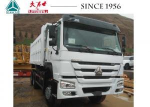 China HOWO 10 Wheeler 30 Ton Dump Truck , Heavy Duty Dump Truck For Hauling on sale