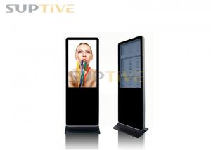 China 65 Inch Interactive Iphone Kiosk Stand , Floor Standing Touch Screen Kiosk on sale