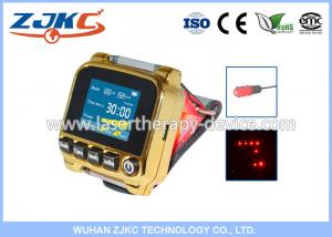 China New product for agent diabetes treatment equipment soft 650nm bio laser therapy apparatus medical watch on sale