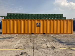 China Waste Water Treatment Container , 40ft High Cube CSC Approved Open Top Container on sale