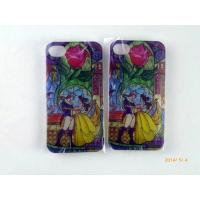 Apple Iphone 5 5S TPU Plastic Cell Phone Covers With Cartoon Pattern