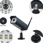 3W Simulation Monitoring Solar Powered Led Security Motion Detector Outdoor Lights