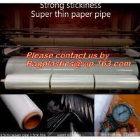 plastic transparent food nontoxic cling wrap, cast clear plastic extensible wrap film, Lldpe Cast Stretch Banding Film