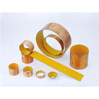 China Durable Plain Sleeve Bearing Strips For Car Joystick / Textile Equipment on sale