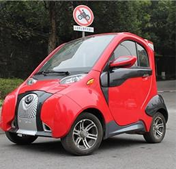 China wholesale China mini 3 wheel 4 seats 50km/h electric car for adults with EEC on sale