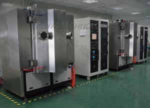 China Arc Evaporation PVD Vacuum Plating Machine,  SS sheets Brushing TiN Gold Plating, Matt  Rose Gold Plating on sale