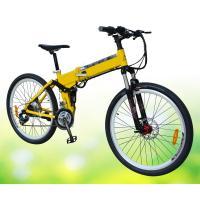 Mountain Electric Bike With Shimano Derailleur , Battery Powered Mountain Bike