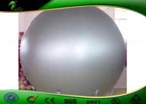China White Inflatable Advertising Balloons , Inflatable Extra Large Helium Balloons on sale