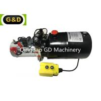 China Mini 12V DC Hydraulic Power Pack Unit GD-S02-002 for Car Lift Platform on sale