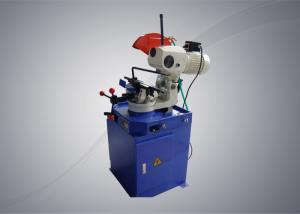 China Manual Aluminium Pipe Cutting Machine Semi Automatic No Flash No Dust Stable Performance on sale