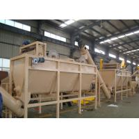 China Waste PET Plastic Washing Recycling Machine Line Low Water And Power Consumption on sale