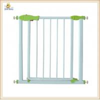 China Retractable White Metal Baby Gates U Shaped Frame , Expandable Baby Gates on sale
