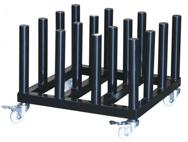 Gentil Organizer Rack Rolling Floor Rack For Vinyl Roll Storage Heavy Duty Media  Roll Cart Images