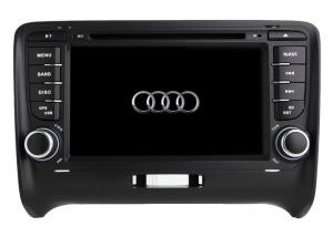 China Audi TT 2006-2012 Android 9.0 Car DVD player GPS navigation Stereo Radio Support Car Steering Wheel Control AUD-7669GDA on sale