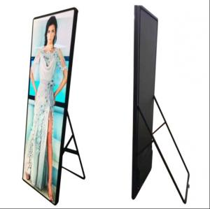 China SMD2121 Smart LED Poster Display 1R1G1B Pixel Configuration Energy Saving Economical on sale