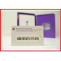 Professional Windows 10 Product Key Code OEM 32 bit x 64 Bit Retail / USB Flash Drive / COA Sticker